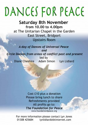 Dances for Peace poster